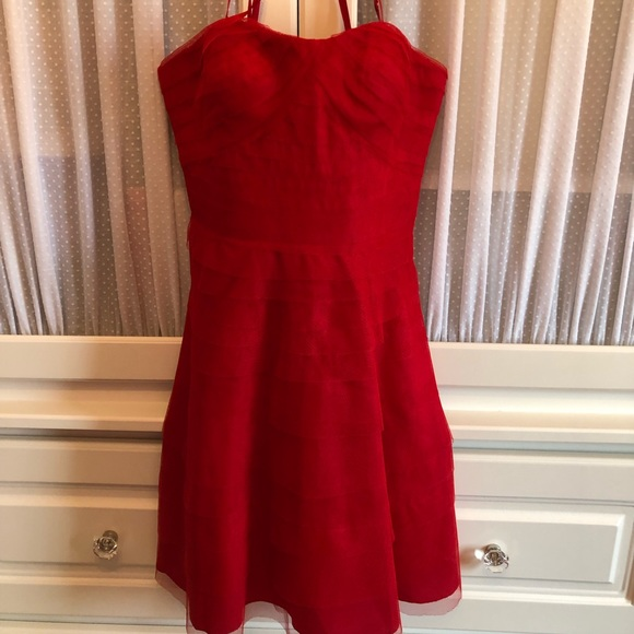 Adrianna Papell Dresses & Skirts - Adrianna Papell Red Dress